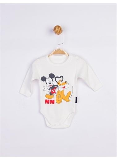Mickey Mouse  Bebek Body 17200 Mavi